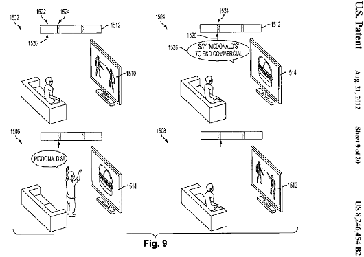 Sony patents method for turning commercials into social games
