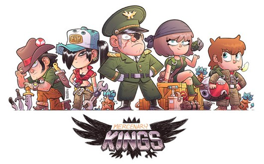 Mercenary Kings Kickstarter
