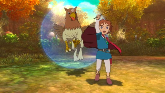 Preorder Ni no Kuni to meet the Griffy