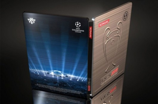 PES 2012 preorder comes with Champions League steelbookcover