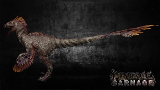 Primal Carnage preorder lets you play as a finefeathered raptor