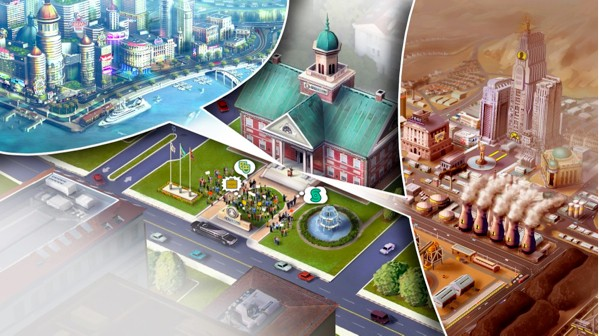 Look around SimCity, don't get bogged down in charts