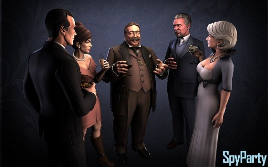 SpyParty redesign The new art of espionage