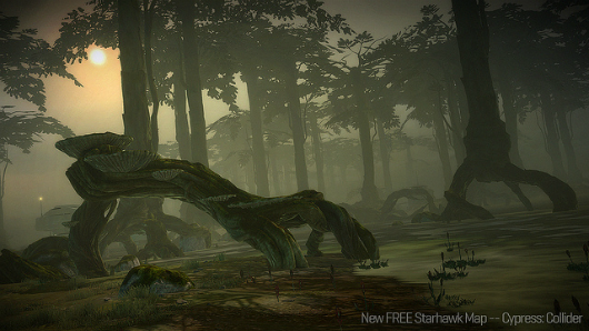 Starhawk 102 update adds free 'Cypress' map pack