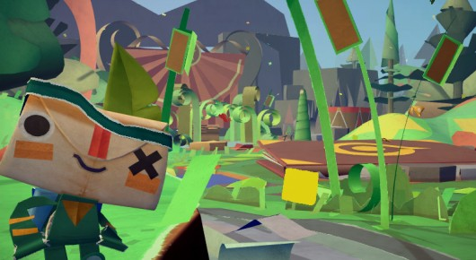 Tearaway takes iota on a journey through PS Vita, our hearts