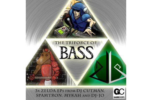 'The Triforce of Bass' is three paywhatyouwant Zelda remix EPs