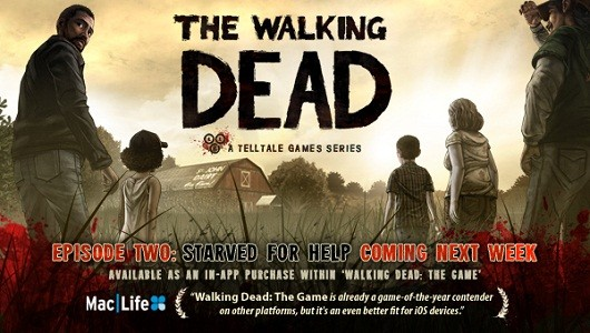The Walking Dead episode 2 hits iOS next week