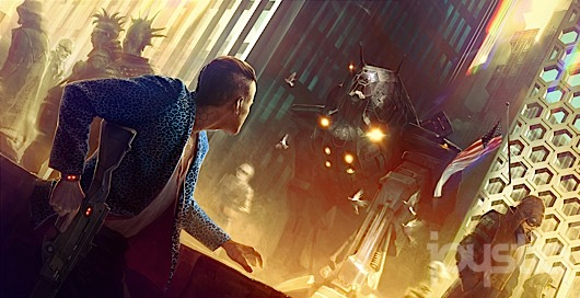 CD Projekt Red's 'Cyberpunk' inspired by Shellshock, Ghost in the Shell