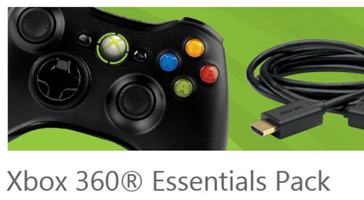 Xbox 360 Essentials Pack coming in October