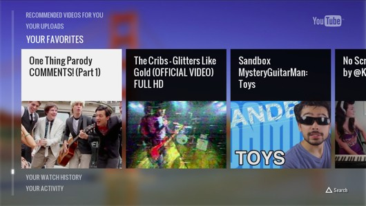 YouTube app out on PS3 today with phone controls