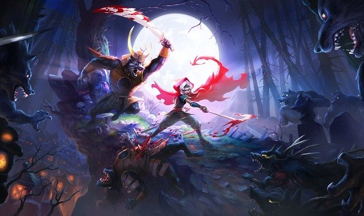 Fight demons as a Japanese Little Red Riding Hood in Akaneiro Demon Hunters beta