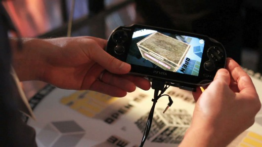 Cooperative reality Handson with Box! Open Me for PS Vita