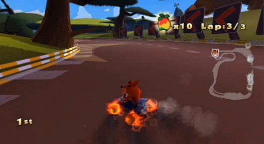 Rumor Cancelled 'Crash Team Racing 2010' screenshots surface on YouTube