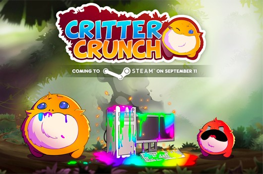 Critter Crunch barfs up on Steam Sept 11