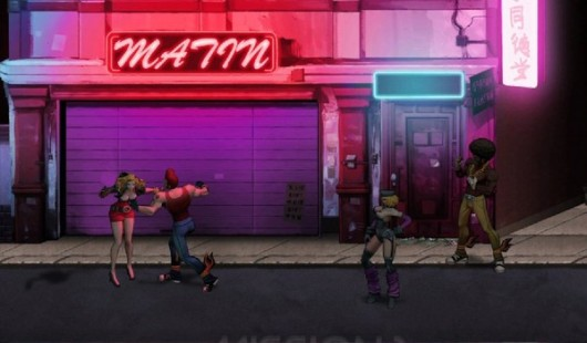 Double Dragon Neon soundtrack is now online, totally free and awesome