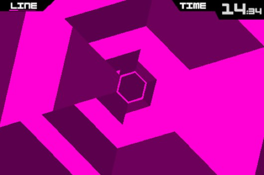 Portabliss Super Hexagon iOS
