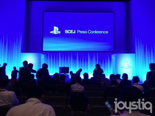 Live from Sony's TGS 2012 press conference