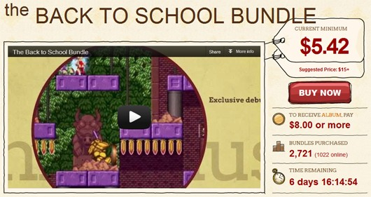 Indie Royale goes back to school with new sevengame bundle