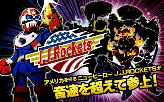 Mega Man creator's JJ Rockets hits Android in Japan, features US president