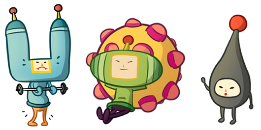 Katamari gets a webcomic, actually looks great