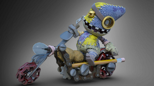 Meet LittleBigPlanet Karting's antagonists, 'The Hoard'