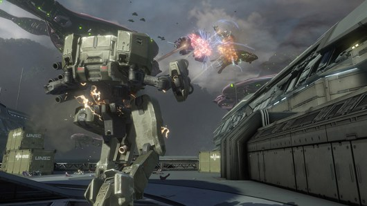 Halo 4 screens reveal the Mantis mech, new Flood game type