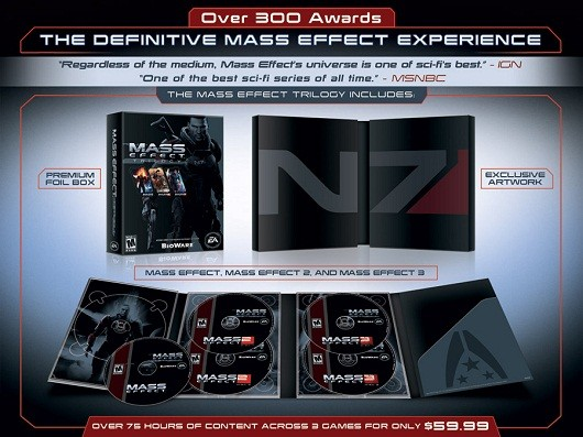 A few more details on the Mass Effect 3 Trilogy