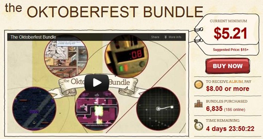 Indie Royale celebrates Oktoberfest with sixgame bundle