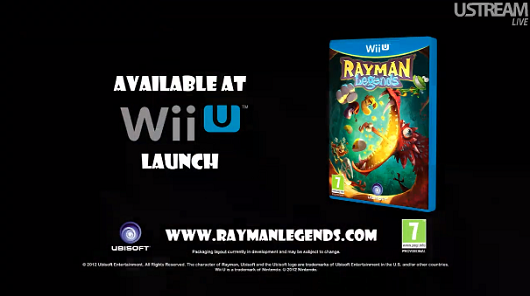 Rayman Legends a Wii U launch title, swinging into Europe Nov 30