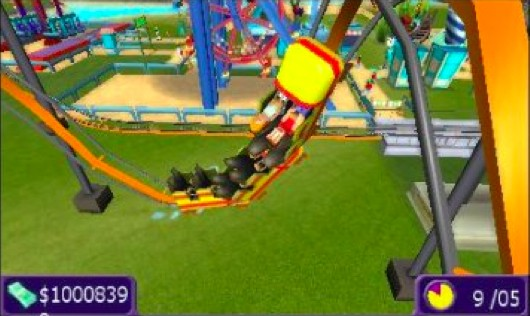 Rollercoaster Tycoon 3DS admits thrillseekers October 16