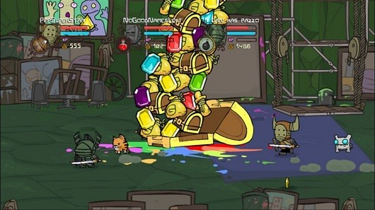 Castle Crashers clocks in over 3 million 'knights in the making'