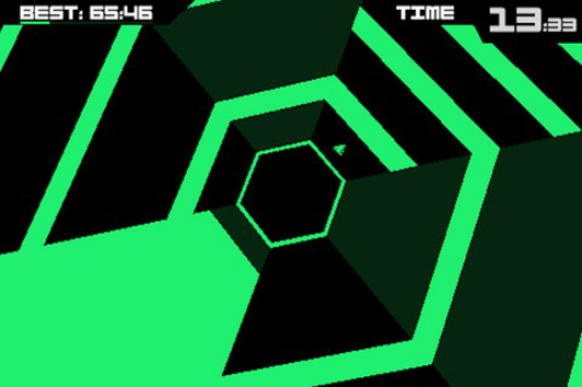 PSA Terry Cavanagh's Super Hexagon out on App Store