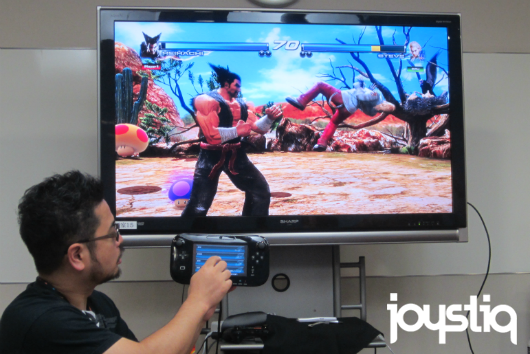 Touchscreen controls coming to Tekken Tag Tournament 2 Wii U Edition