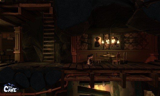 The Cave screens