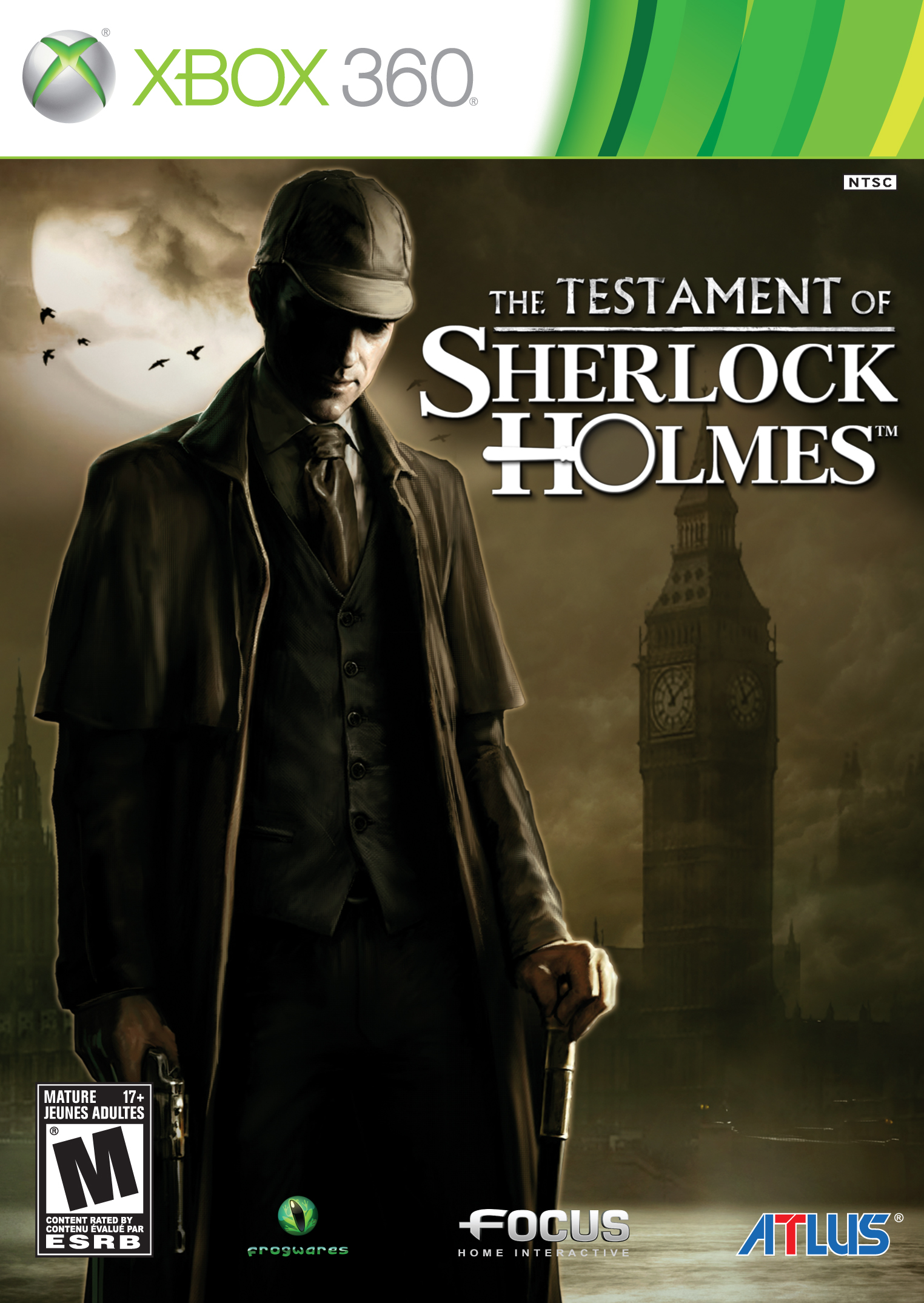 The Testament of Sherlock Holmes gets price cut and box art