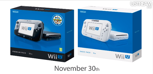 Wii U hits Europe November 30