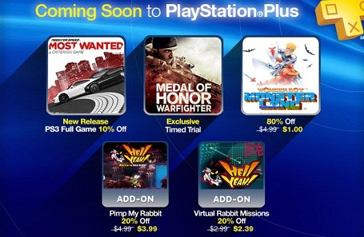 PlayStation Plus this week Need for Speed, Medal of Honor, Hell Yeah!