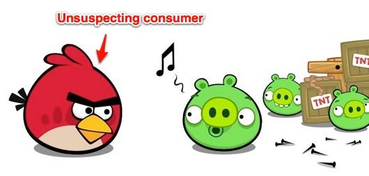 Fake Bad Piggies Chrome app installs adware, 80K affected