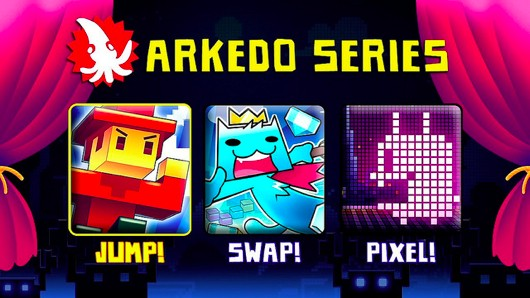 Arkedo Series on PSN tomorrow