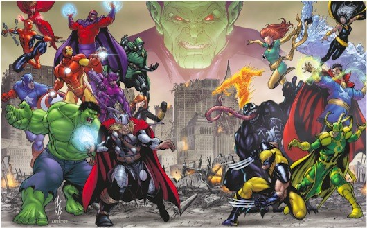 Avengers Battle for Earth character list features favorites, familiar faces
