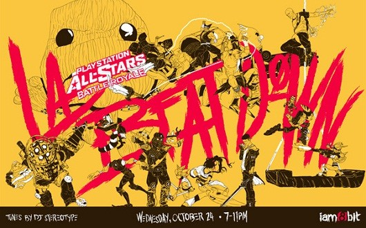 iam8bit's PlayStation AllStars event in LA