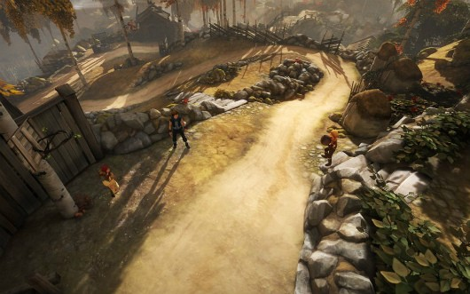 Experimenting with Starbreeze's 'Brothers A Tale of Two Sons' with director Josef Fares