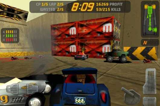 Carmageddon iOS 'should' hit next week, Android late 2012early 2013