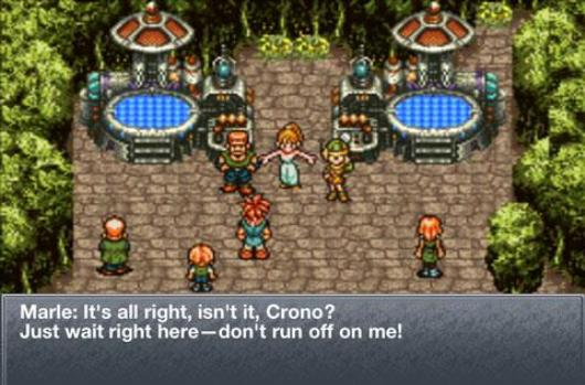 Chrono Trigger now available on Android, not unavailable on anything