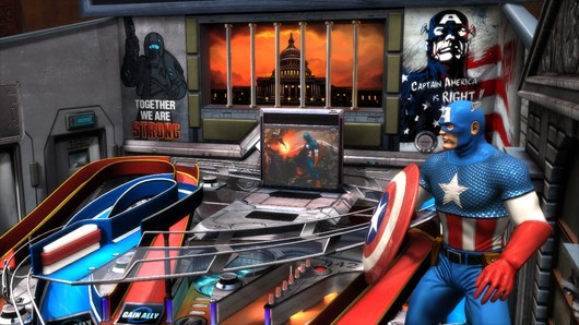 Civil War comes to Marvel Pinball