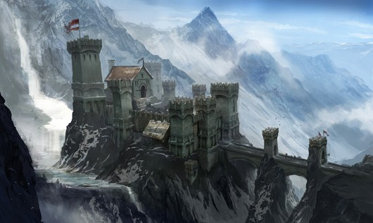 Here's some pretty Dragon Age 3 concept art
