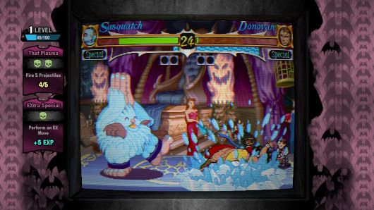Watch a live stream of Capcom playing Darkstalkers Resurrection right here