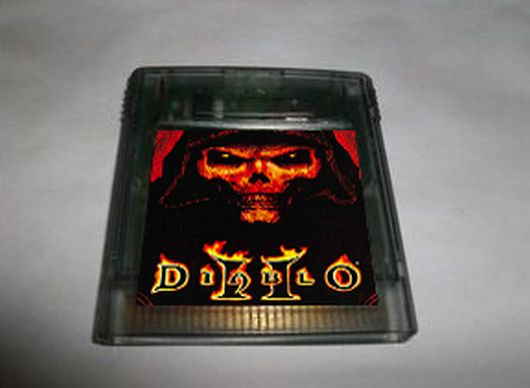Blizzard North considered making Diablo Junior for the Game Boy Color