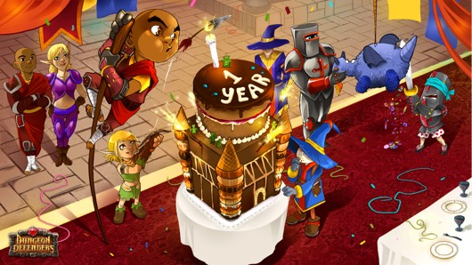 Dungeon Defenders celebrates first birthday with new content