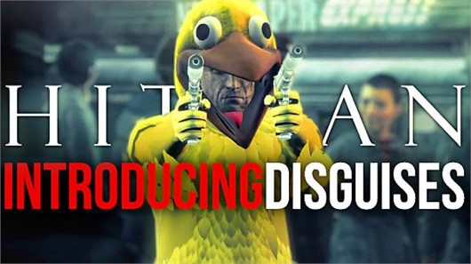 Agent 47 in a chicken suit and other Hitman Absolution disguises